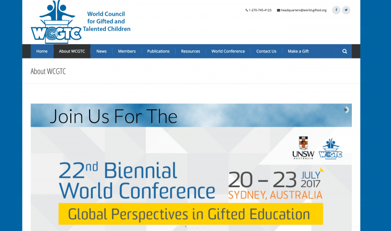 WCGTC Website Redesign